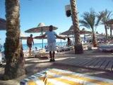 Египет.Отель Марлин Инн.Пляж.Танец Али Бабы.18.06.2013 г.